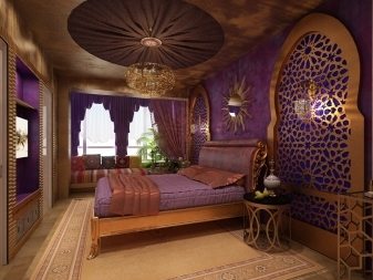 Спальня в восточном стиле: дизайн интерьера, мебель и цвета