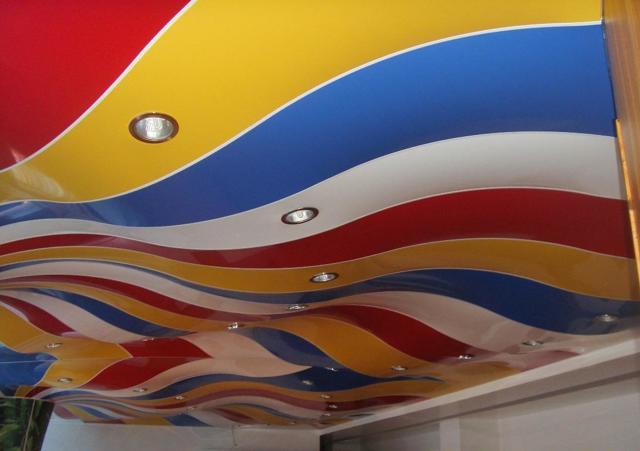 Перфорированные натяжные потолки фото: с перфорацией дышащие, отзывы, 3d с подсветкой, видео