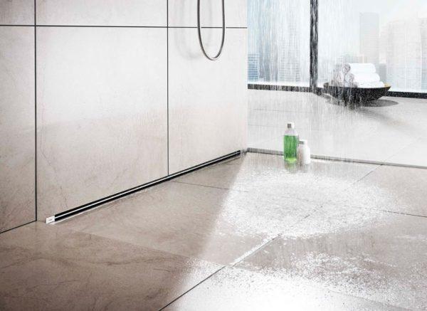 Душ без поддона: трапики для слива воды, плитка на пол, сделать в квартире сифон, установить душевой своими руками, теплый
