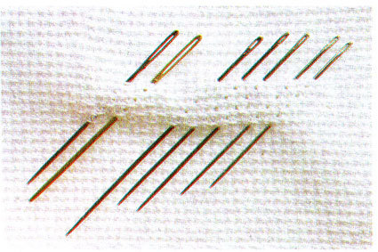 Иглы для вышивания крестиком: номера для вышивки крестом, Иглара волшебная