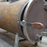 Буржуйка из газового баллона: печка своими руками, сделать в гараже, котел на дровах по видео, из пропанового самодельные