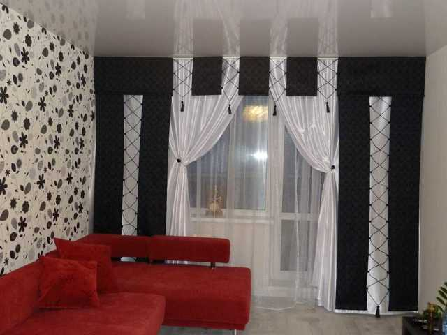 Оформление окон: стены в гостиной, фото и идеи, шторы в современном стиле, дизайн и декорирование спальни
