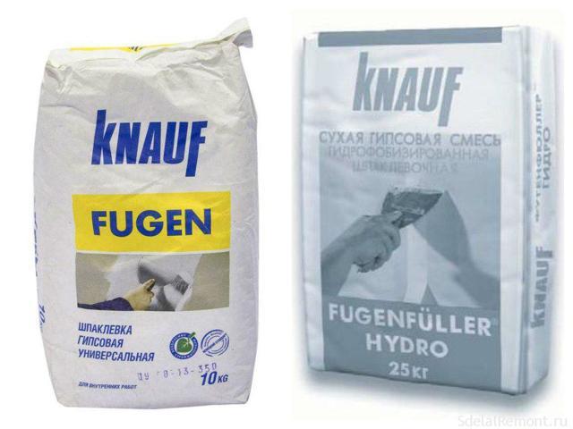 Шпаклевка для гипсокартона: какую выбрать лучше, Кнауф для швов, ГКЛ влагостойкий, использование готовых смесей