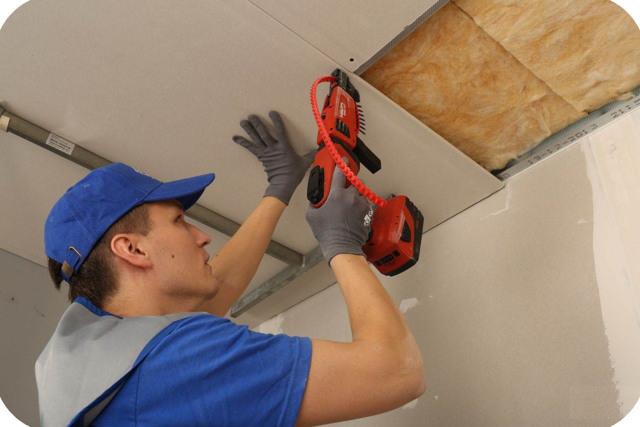 Подвесной потолок из гипсокартона своими руками пошаговая инструкция: как сделать, видео и фото, схема и монтаж