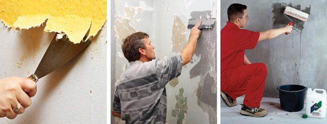 Видео как клеить жидкие обои на стену: сколько сохнут, инструкция по применению, как разводить, кельма