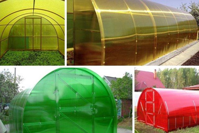 Поликарбонат для теплиц какой лучше: отзывы и размер листа, толщину как использовать, выбрать цвет
