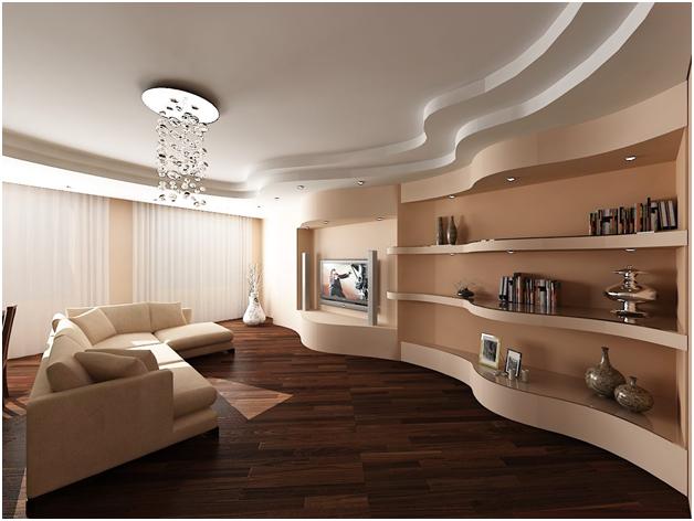Дизайн потолка из гипсокартона фото: 2020 гипсовые, новинки интерьера, идеи и варианты, видео