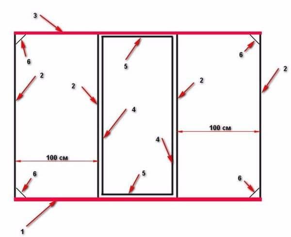 Теплица по Митлайдеру: схема, чертежи и расчеты, по митлайдеровской отзывы, своими руками поликарбонат