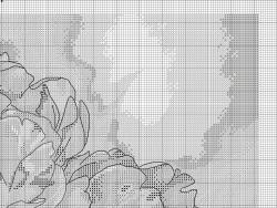 Вышивка тюльпанов крестом: крестиком схемы бесплатно, букет красный на черном