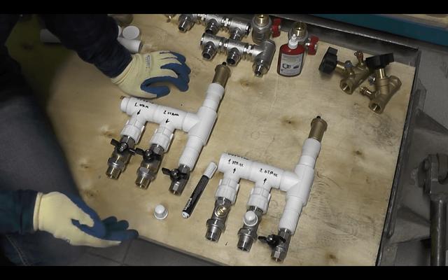 Коллектор для теплого пола: смесительный узел для водяного пола, насосная группа своими руками, установка