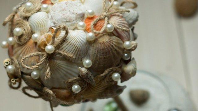 Топиарий из ракушек своими руками пошаговое фото: из морских мастер класс, мк