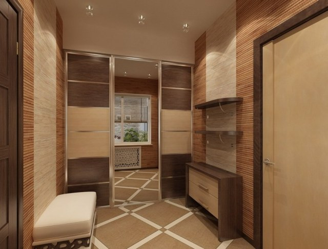 Плитка на полу в коридоре: фото для кухни, дизайн прихожей, испанская укладка, как положить под обои на балкон