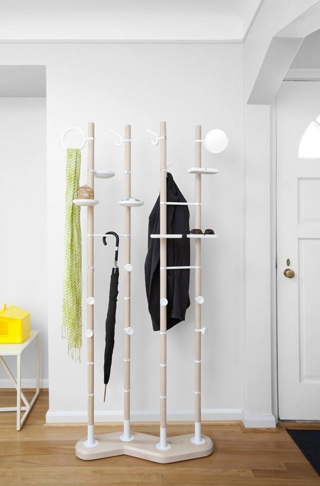 Вешалка в прихожую своими руками: фото как сделать, оригинальные для одежды, как повесить и на какой высоте