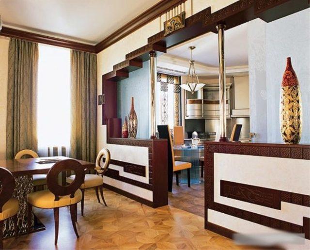 Полуарка из гипсокартона фото: своими руками, как сделать межкомнатные арки на кухне, дизайн интерьера гостиной