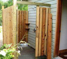 Душ своими руками: сделать на даче уличный, построить летний, каркас садовый, самодельный