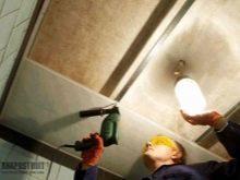 Пластиковый потолок в ванной: видео как сделать своими руками, фото ПВХ в комнате, правильный монтаж