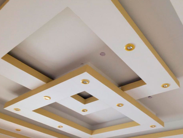 Фигурный потолок из гипсокартона фото: как делать, видео, картинки дизайна, красиво своими руками