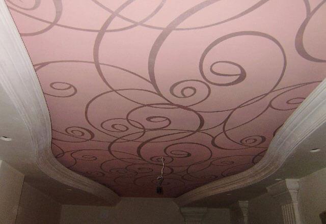 Материал для натяжных потолков: технологии строительные, новый материал, из какого ассортимента