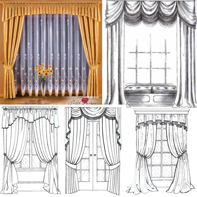 Виды штор: на окно, фото с описанием, какие бывают разновидности занавесок, типы жалюзи и название занавесей