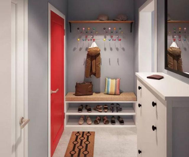 Прихожая в коридор маленькая: фото для коридоров, дизайн интерьера, небольшая комната, идеи для малых размеров