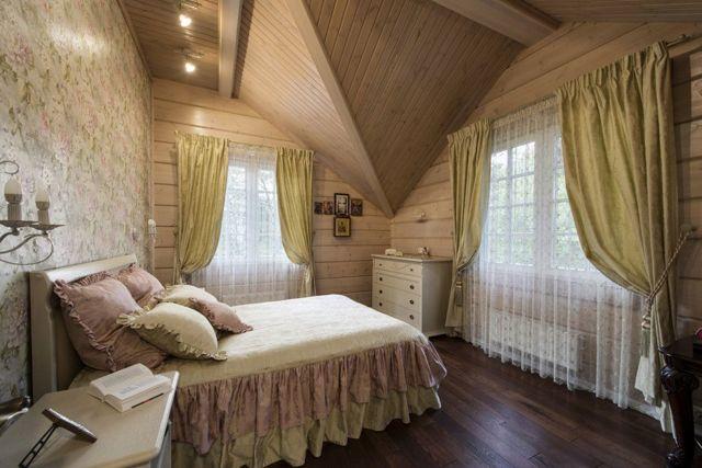 Шторы на мансардные окна: фото, окно со скосом на этаже, варианты в крыше, фотогалерея занавесок и оформления