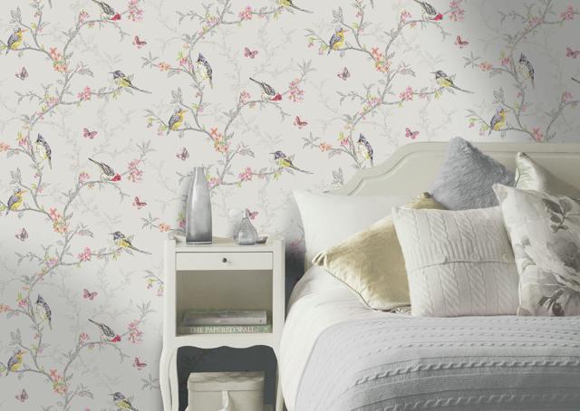 Обои в комнату: фото для стен в квартиру, красивый ремонт, чем отделать кроме обоев, в однокомнатной расход