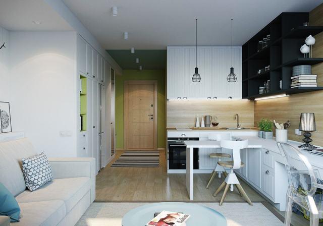 Прямоугольный зал в квартире: фото ремонта гостиной, формы и дизайн, интерьер кухни, площадь пола