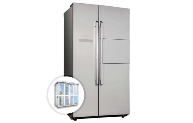 Можно ли холодильник ставить на балконе зимой: температура и как хранить варенье, телевизор поставить и остеклить