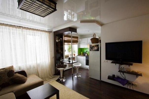 Интерьер кухня-коридор: фото и дизайн, перенос в однушке, перепланировка в однокомнатной квартире, две комнаты