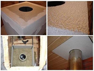 Как установить трубу в бане через потолок: как сделать разделку через крышу, как вывести проход, изоляция своими руками