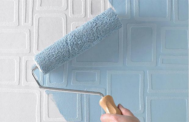 Флизелиновые обои под покраску: можно ли красить гладкие, краска и отзывы, своими руками клеить на водоэмульсионку