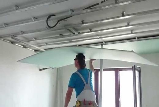 Отделка гипсокартоном: работы с ГКЛ внутри дома своими руками, внутреннее помещение из газобетона, стен и потолка
