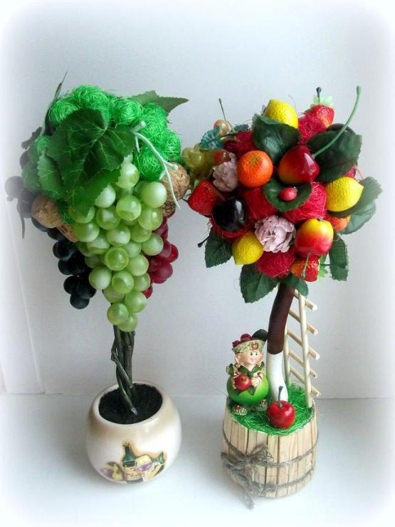 Как сделать дерево топиарий: своими руками мастер-класс, фото, мандариновое и декоративное, виноградное из цветов