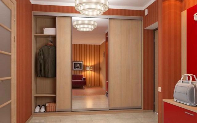 Фото угловой шкаф-купе в спальню: наполнение для маленькой 100 150, дизайн внутри, размеры и образцы
