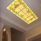 Витражные потолки: с подсветкой, фото остекления от пола до потолка, изготовление и дизайн в квартире, круглый