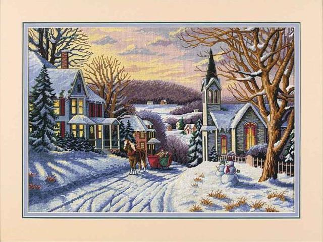 Схема новогодней вышивки крестом: миниатюры игрушек, маленький дед Мороз в сапожках, мотивы 2020 скачать бесплатно