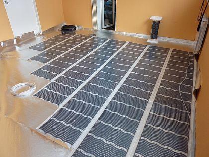 Инфракрасный пол: теплый пленочный пол, греющая пленка, установка своими руками, схема подключения без монтажа