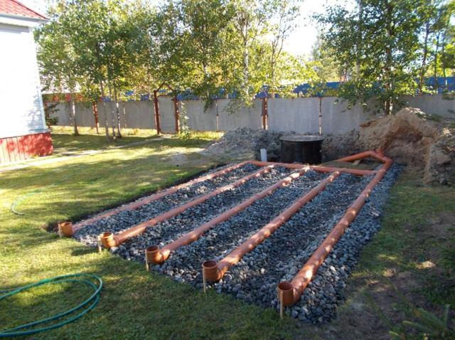Канализация на даче: своими руками, локальное устройство, на участке дома, схема туалета, автономный водопровод