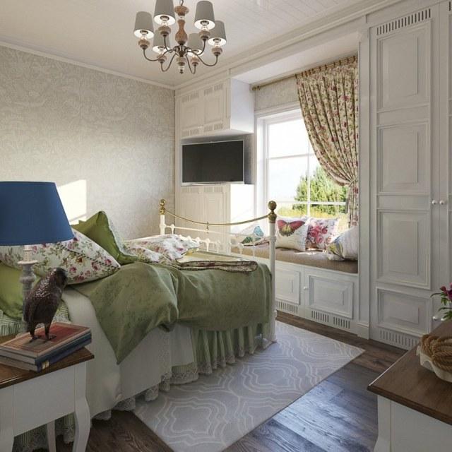 Обои для спальни: фото для маленькой, идеи для комнаты, как красиво оформить стены, примеры отделки кроме 3д