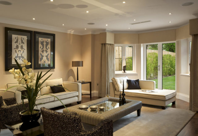 Интересные идеи зала: для гостиной, оригинальный интерьер, необычные фото, нестандартная форма и оформление