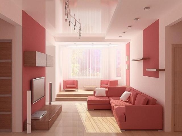 Дизайн зала 18 м кв. фото в квартире: как обставить метры, ремонт в интерьере, комната в панельном доме