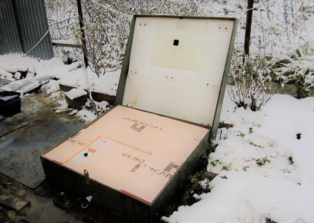 Консервация септика Топас на зиму: видео как утеплить Танк, работает в зимний, своими руками