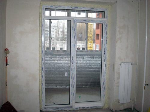 Французское остекление балкона: окна и двери на лоджию, фото штор в квартире и установка