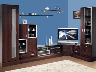 Горка в зал: фото мебели, стенка под телевизор в квартире, шкафов дизайн, классику из Украины смотреть