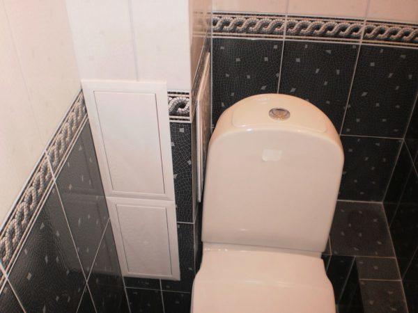 Короб в ванной из гипсокартона: монтаж как делать, закрыть трубы, видео, своими руками собрать с дверцами