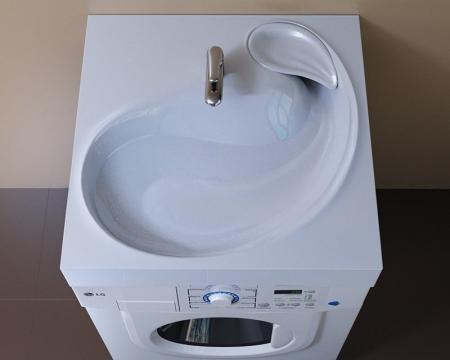 Раковина над стиральной машиной: умывальник на машинке, установка и фото, мойка и стиралка, рукомойник Кувшинка