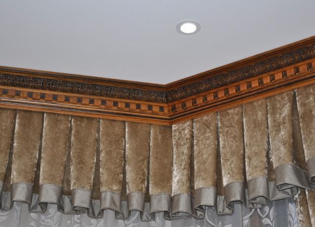 Потолочный карниз для натяжных потолков фото: для штор какой лучше и какой выбрать, как спрятать и как монтировать, варианты и отзывы
