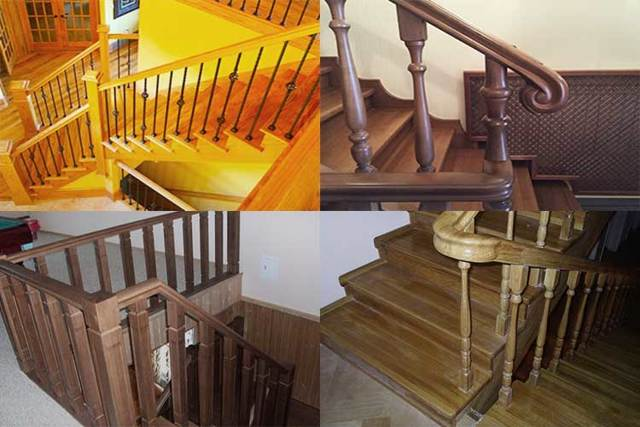 Перила для лестницы: видео с бетонными, поручни и ограждения дачного дома, надежные как сделать своими руками