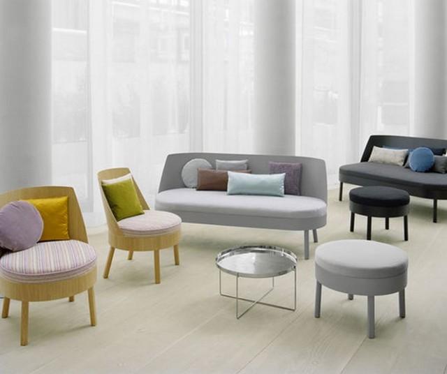 Кресло в гостиную: маленький зал, мягкая и стильная, недорогая и красивая, компактная мебель, фото небольших