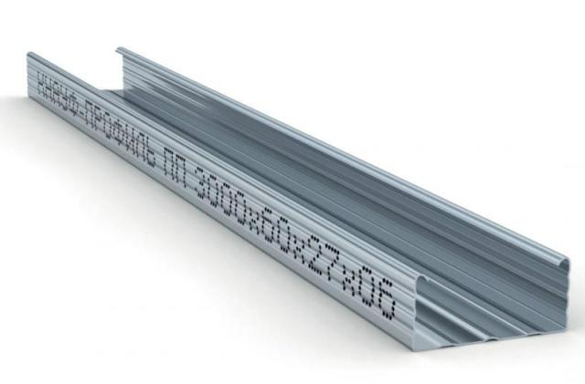 Профили для гипсокартона: размеры и виды ГКЛ, производитель стартового и гибкого, стоечный Кнауф, какие бывают